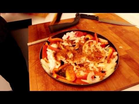Max up my cooking - I season - episode 8 - Fajitas