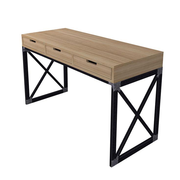 Стол Gustave. Мастерская Copp & Gross. Мебель ручной работы из металла и дерева.