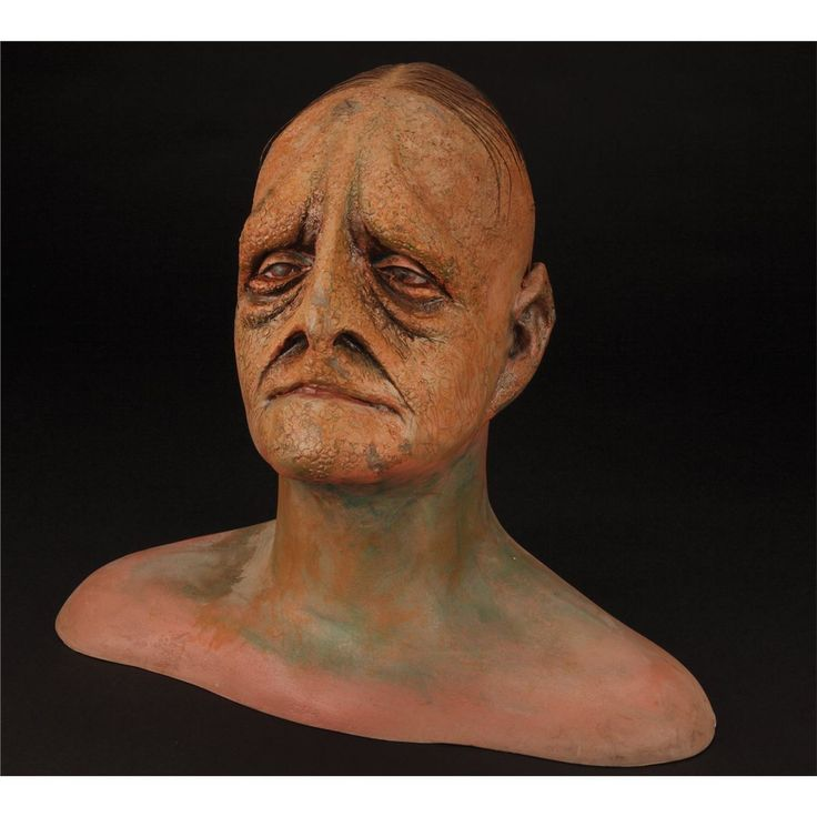 An early mutant mask.