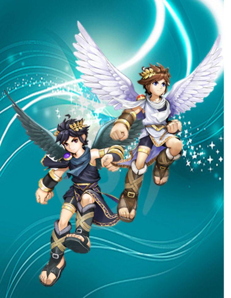 Pit And Dark Super Smash Bros GameKid Icarus