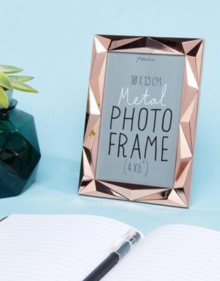 Paperchase Angle Rose Gold Photo Frame