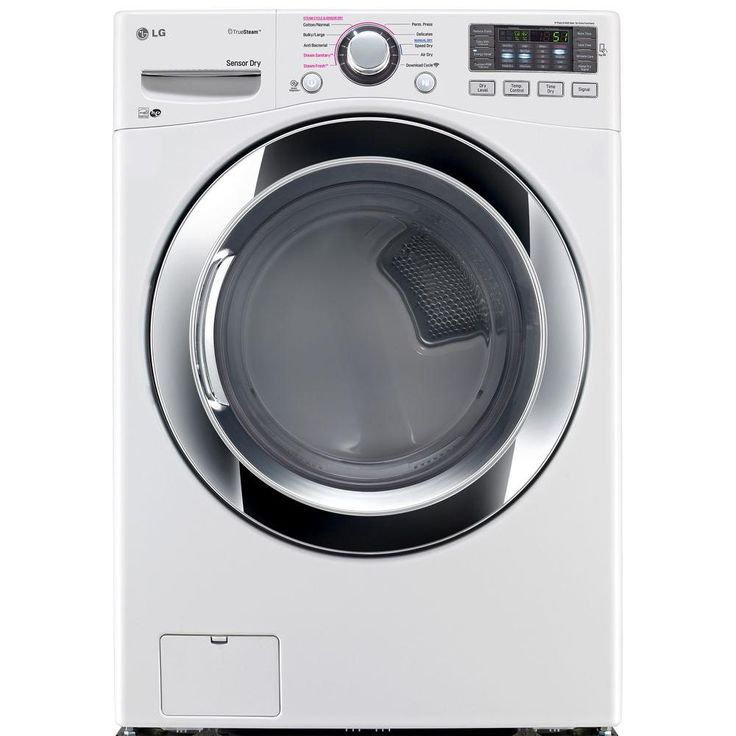 LG Electronics 7.4 cu. ft. Gas Dryer with Steam in White, ENERGY STAR-DLGX3371W - The Home Depot the new model.  999.