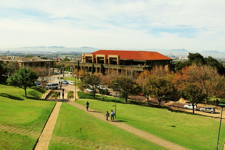 Beautiful Middle Campus at UCT in the autumn.