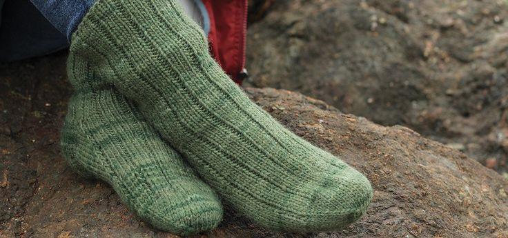 Maritime Wool Socks - Fleece & Harmony PEI