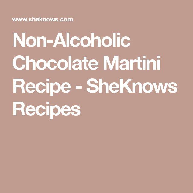 Non-Alcoholic Chocolate Martini Recipe - SheKnows Recipes