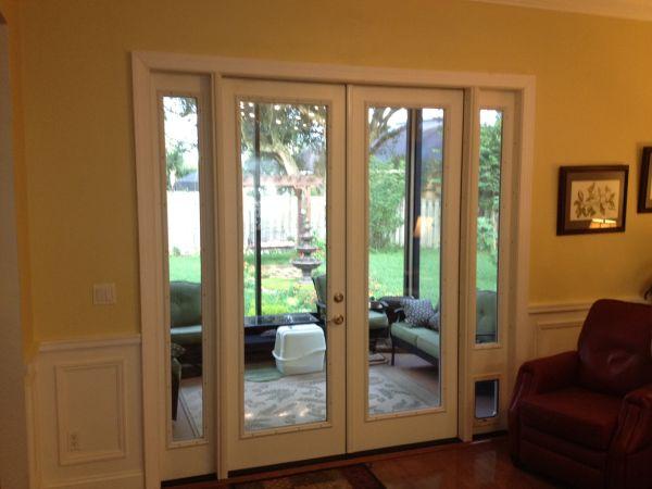 pet doors in side window
