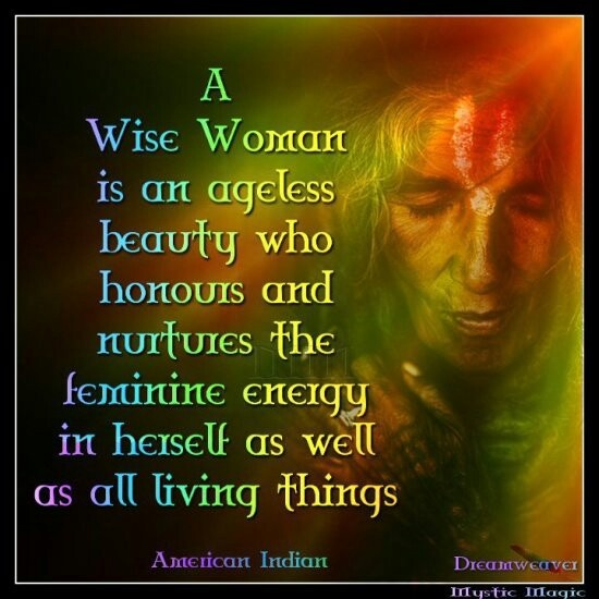 wise woman.