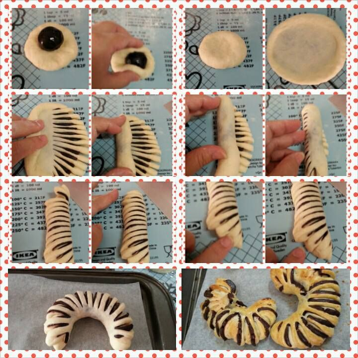 Culinary Kitchenette: Bread Shaping Techniques by Gene Sim חלה, לחמניות, שמרים, בצק שמרים, עוגת שמרים, רולדה