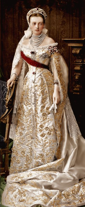 Grand Duchess Anastasia Mikhailovna of Russia, Duchess of Mecklenburg-Schwerin.