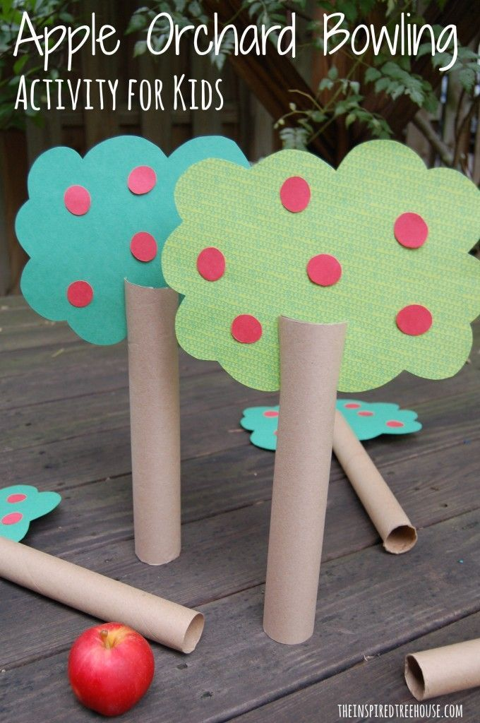 sensory motor lesson plan apple orchard bowling activity for kids