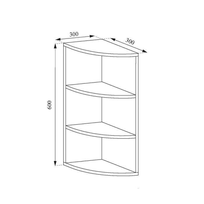 vicco etagere d angle ecki pour livres
