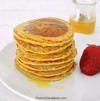 Comienza a cuidar tu salud con estos Pancakes de avena y vainilla,es una receta tradicional enuna versión sana.Lo mejor de todo, son súper fáciles