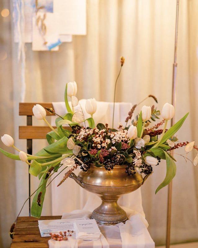 Detalhe floral da nossa participação no bonito evento do sábado passado Queres casar comigo?