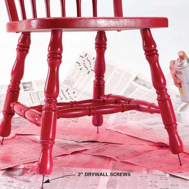 Bästa knepet när du ska måla stolar (det här är så smart!) - Sköna hem