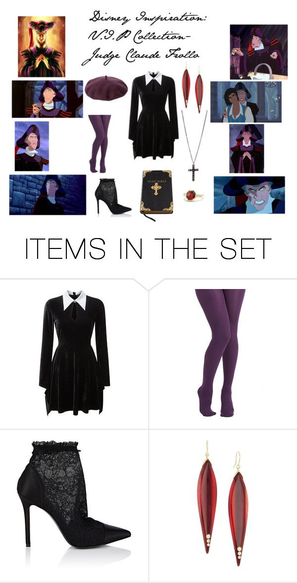 """Disney Inspiration: V.I.P- Judge Claude Frollo"" by dmacoleman-1 ❤ liked on Polyvore featuring art"