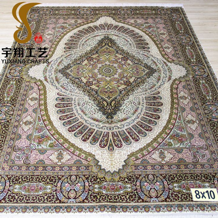 YuXiang 244x305cm persian carpet handmade silk rug for sale