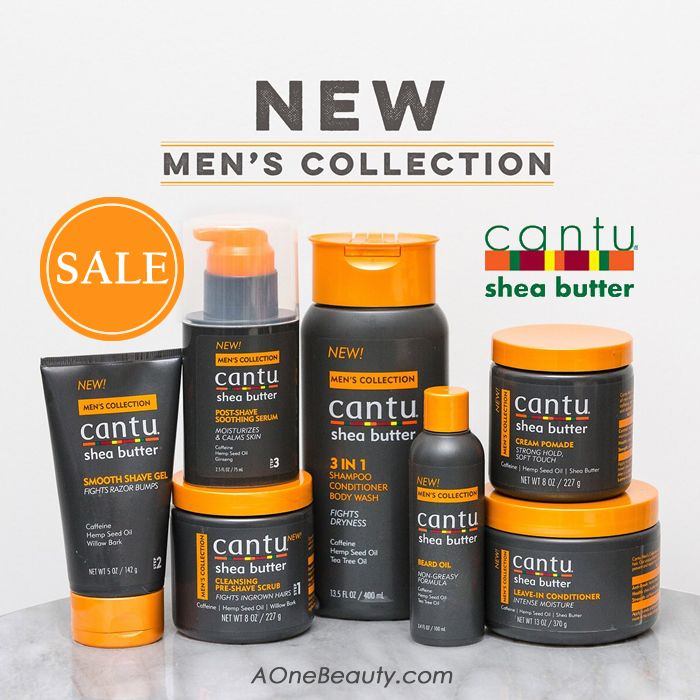NEW Cantu Men's Collection On Sale Now! Free Shipping to Canada CAD$49 Order / Free Cantu Samples with Every purchase  http://www.aonebeauty.com/brands/Cantu.html?sort=newest #sale #men #beardoil #freeshipping #sample #sheabutter