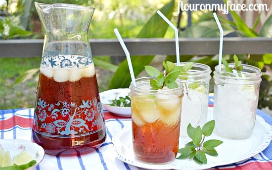 how to make, sweet ice tea, summer, beverages, ice tea directions
