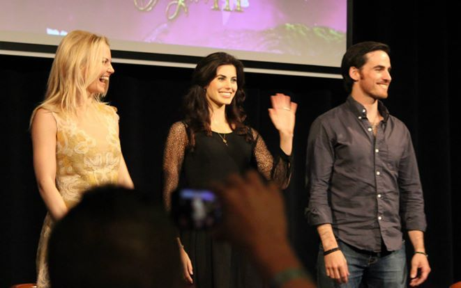 Jennifer Morisson, Meghan Ory and Colin O'Donoghue at Fairytales III Convention [DAY 1]