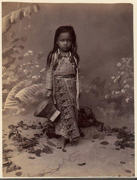 Unknown   Javanese Child 1860s-1870s   The Met