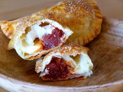 """Empanadas Dulces de Queso y Dulce de Membrillo (Podés cambiar el dulce de membrillo por dulce de batata """"camote"""")"""