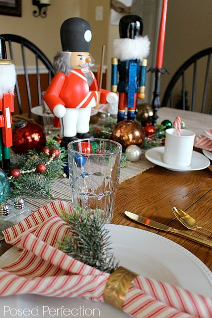 Christmas Table Decorations 808 best christmas table decorations images on pinterest