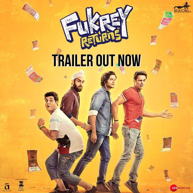 FukreyReturns Official Trailer | Pulkit Samrat, Varun Sharma, Manjot Singh, Ali Fazal, Richa Chadha | Directed by Mrighdeep Singh Lamba | Movie Releasing on 15th December 2017. #FukreyReturnsTrailer #PulkitSamrat #VarunSharma #ManjotSingh #AliFazal #RichaChadha #MrighdeepSinghLamba #ExcelEntertainment #ZeeStudios #ZeeMusicCompany