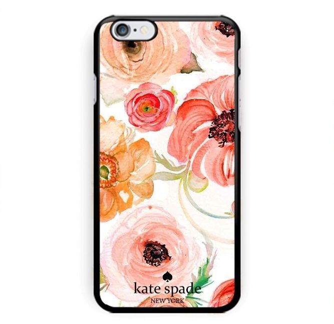New Design & Rare Kate Spade Rose floral pattern Hard Case iPhone 6 6s 7 (PLUS) #UnbrandedGeneric