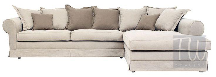 Natalie to niezwykle stylowa sofa o klasycznych zaokrąglonych podłokietnikach…