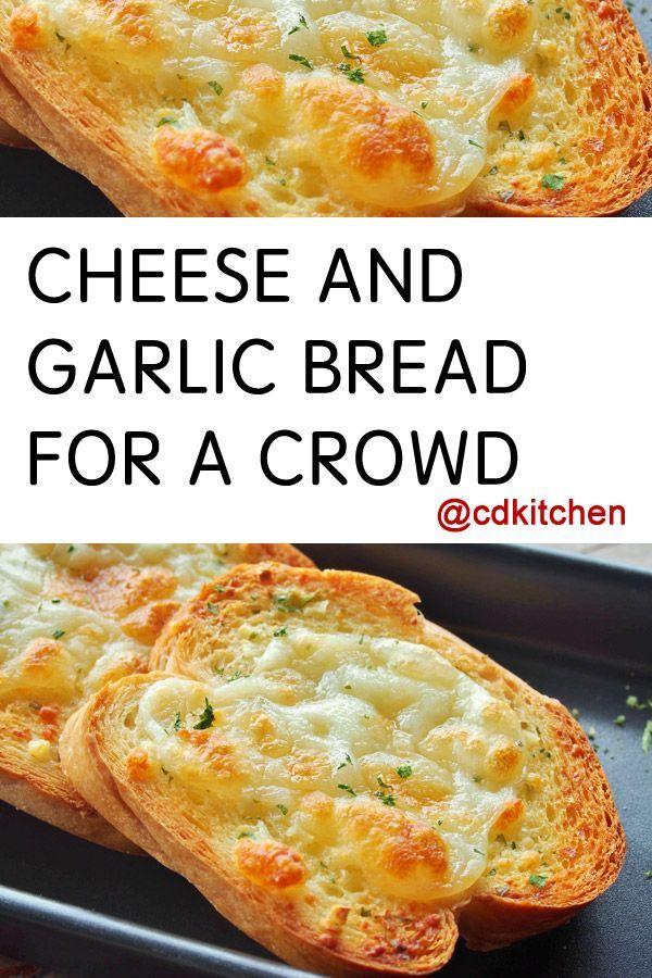 Garlic bread is already a winner. Cheesy Garlic bread takes it to ...