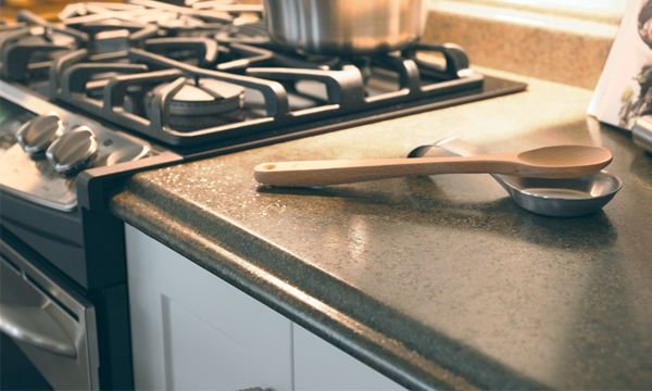 how to avoid and repair burn marks on laminate countertops