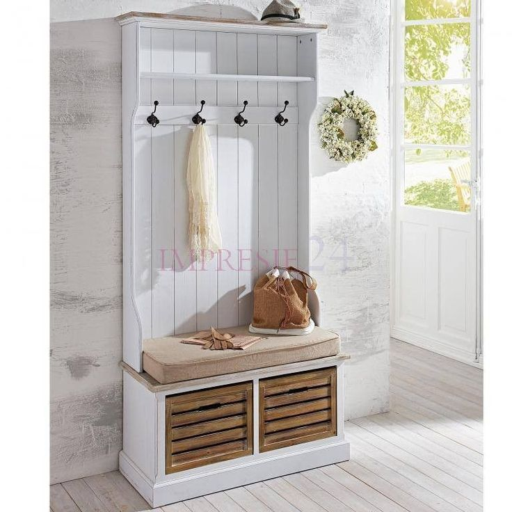 Piękna, biała szafa w prowansalskim stylu | Beautiful, white wardrobe in provencal style #szafa #garderoba #prowansalski #styl #meble #wardrobe #white #provencal #stylish #furniture #interior