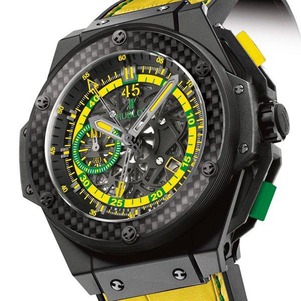 HUBLOT King Power Scolari J-30 COUPE DU MONDE DE FOOTBALL : Coup double pour la marque horlogère suisse ! (See more at En/Fr: http://watchmobile7.com/articles/hublot-king-power-scolari)  #watches #montres #hublot @Hublot Watches