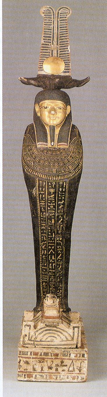 Unusual artifact. I recognize the horizon glyph at the bottom but need more clues as to know which king is being represented here.