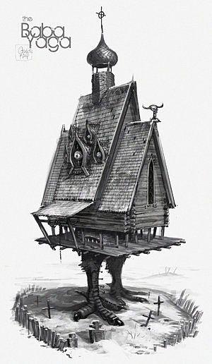 baba yaga house