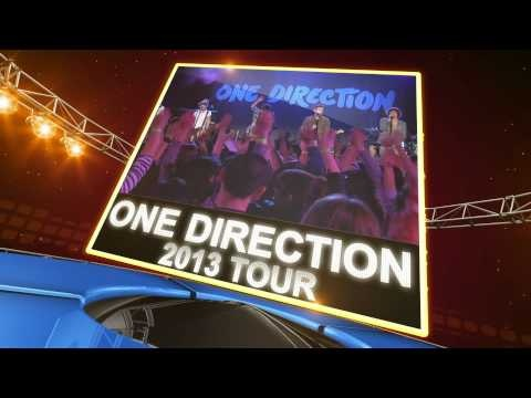 One Direction has announced its 2013 world tour. One Direction tickets are selling fast, be sure to book your tickets today at: http://www.ticketcenter.com/one-direction-tickets