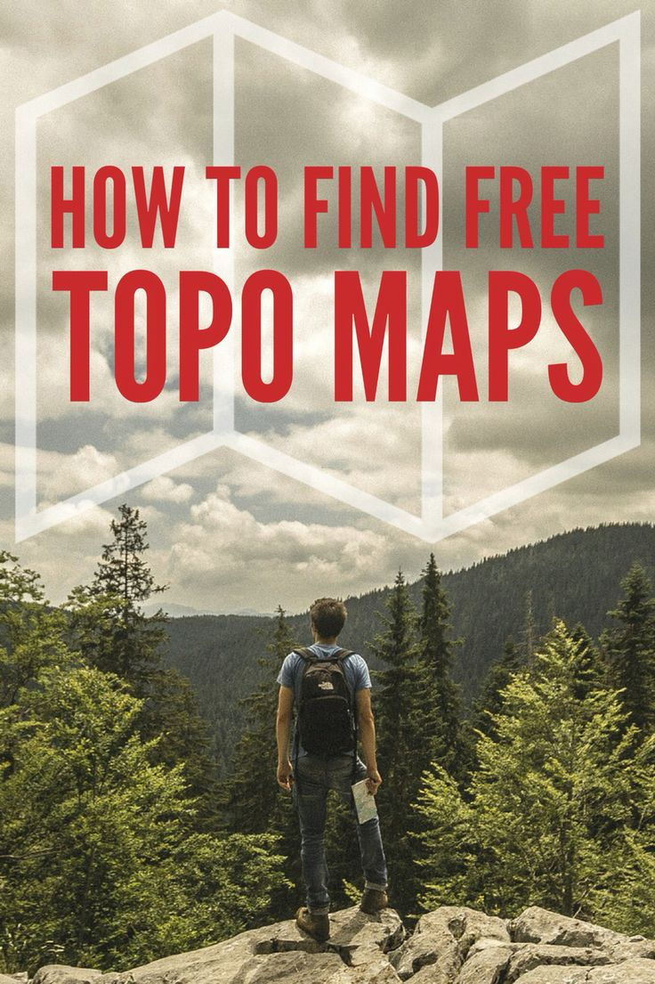 National Geographic Just Made it Easy to Find Free Topo Maps for Your Next Hike