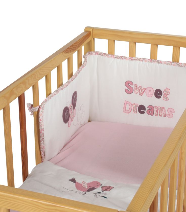 Baby Weavers 3 Piece Crib Bedding Set - Sweet Dreams | Kiddicare