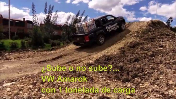 VW Amarok Prueba off-road con 1 tonelada en la caja | Naves 4x4