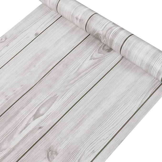 Distressed Wood Peel And Stick Wallpaper Gray Brown White 3d Realistic Barnwood Ebay Enchapado De Madera Pisos De Madera Rusticos Fondo Madera Vintage