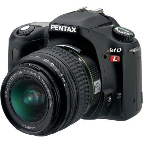 Pentax *istDL 6.1MP Digital SLR Camera with DA 18-55mm f3.5-5.6 AL Digital SLR Lens by Pentax. $799.95. From the Manufacturer                Bigger only where it matters most, Pentax delivers better for a third time in the Pentax *ist DL digital SLR. Hosting an array of advanced, user-friendly features including an Auto Picture mode for automatic exposure selection, the *ist DL features a generous 2.5 inch color high definition LCD monitor that offers an entirely new ...