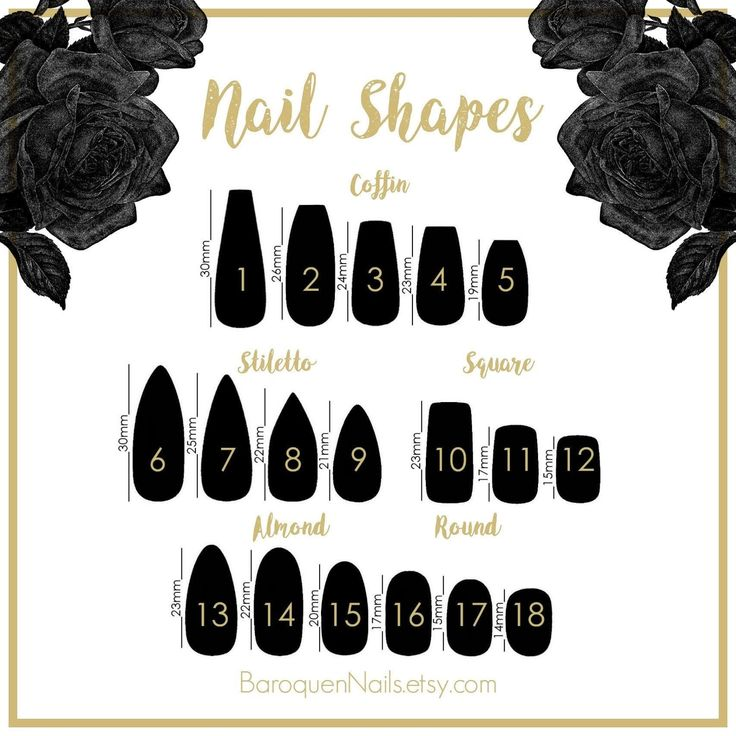 Press On Nails Sizing Sample Pack Nail Sizing Kit Full