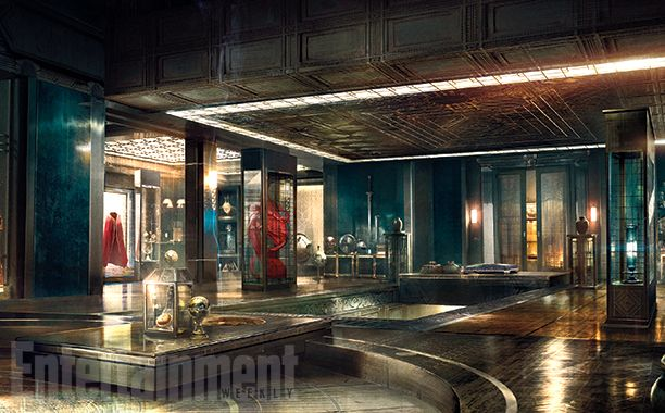 "The Chamber of Relics: ""I'm perpetually awestruck that I'm getting to make this movie,"" director Scott Derrickson tells EW. ""I keep waiting for the knock on the door when somebody says, 'This movie's too weird, we can't make this.'"" #DoctorStrange  Image Credit: © Disney/Marvel"