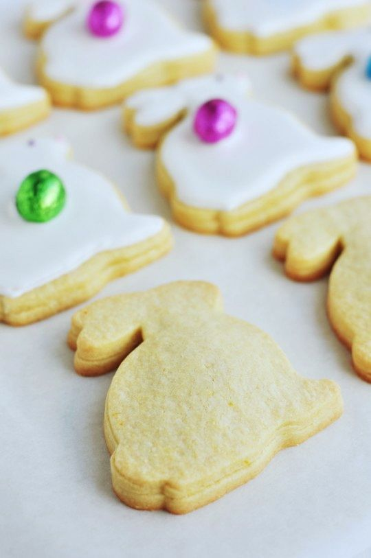 Marzipan filled pastries----Easter Figolli Cookies via Sweetapolita