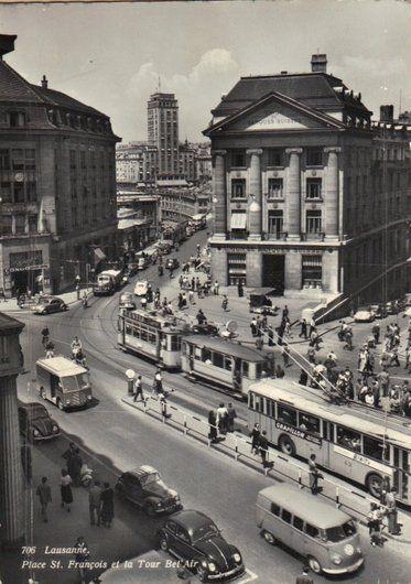 lausanne la gare 1960 - Cerca con Google