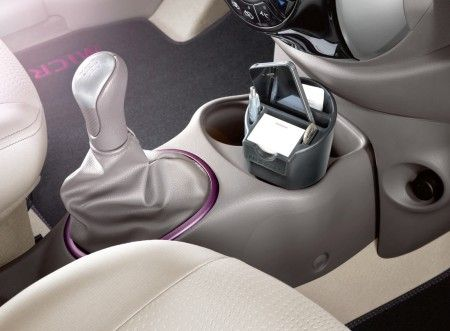 Nissan Micra MY2013 Black Purple Interior Inserts KE6003H101BP Cars P
