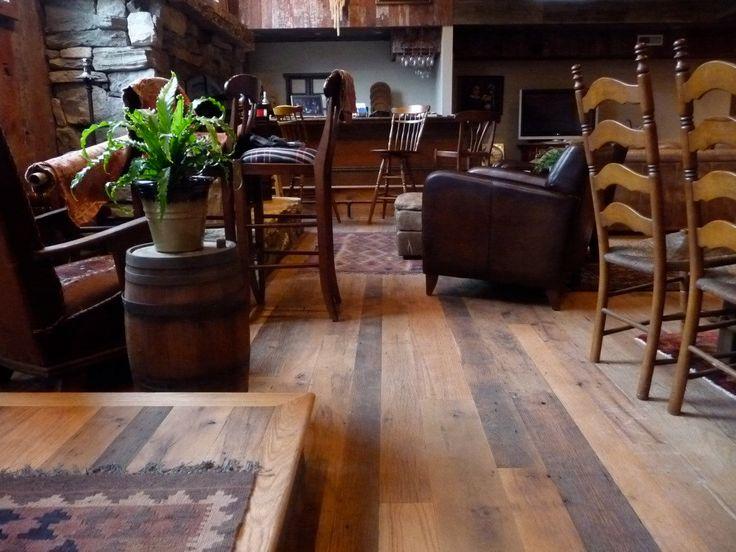 Love the flooring!  Classic Oak Mix  Antique Reclaimed Hardwood by HistoricFlooring, $9.99