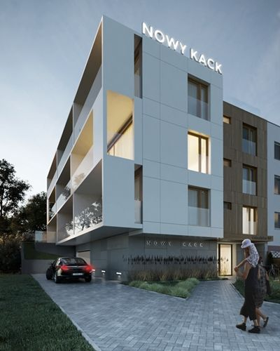 "apartment buildings in Gdynia / Poland ""Nowy Kack"" MPol Investment"
