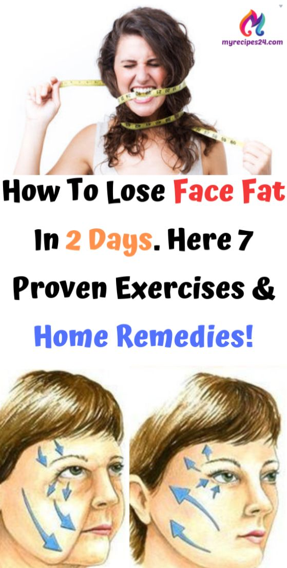 How To Lose Face Fat In 2 Days. Here 7 Proven Exer…