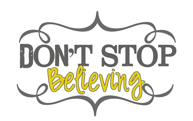 21 Best Images About Don't Stop Believing... On Pinterest